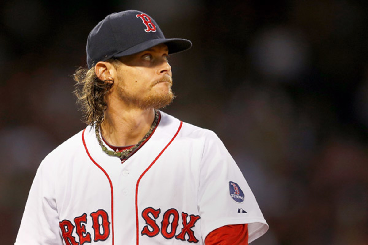 Red Sox ace Clay Buchholz left in the seventh inning on June 8 due to neck tightness. (Jim Rogash/Getty Images)