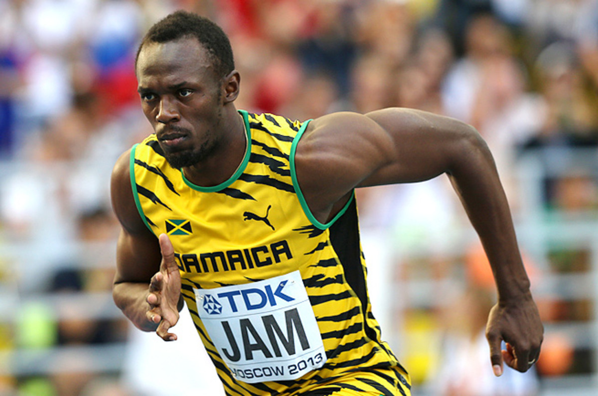 Usain Bolt closed out the track & field world championships with three gold medals, bring his career total to 10 medals.