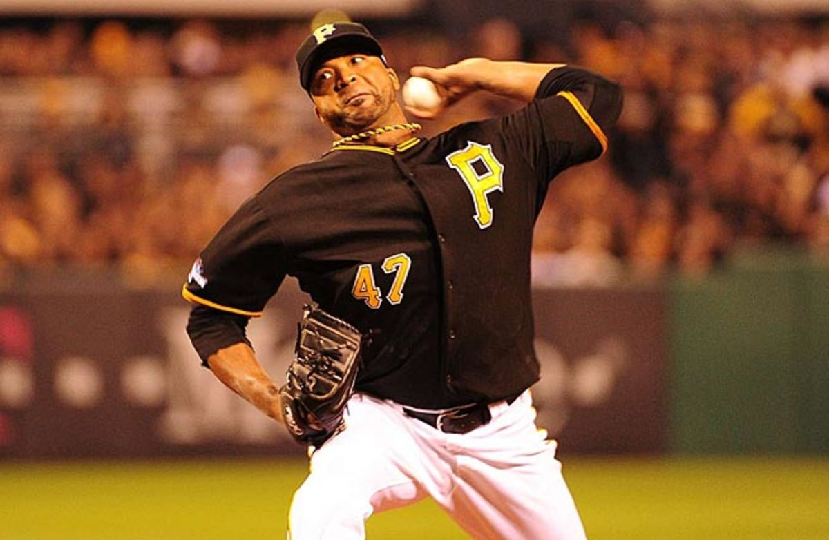 Francisco Liriano shut down Cincinnati to lead Pittsburgh to its first NLDS appearance.