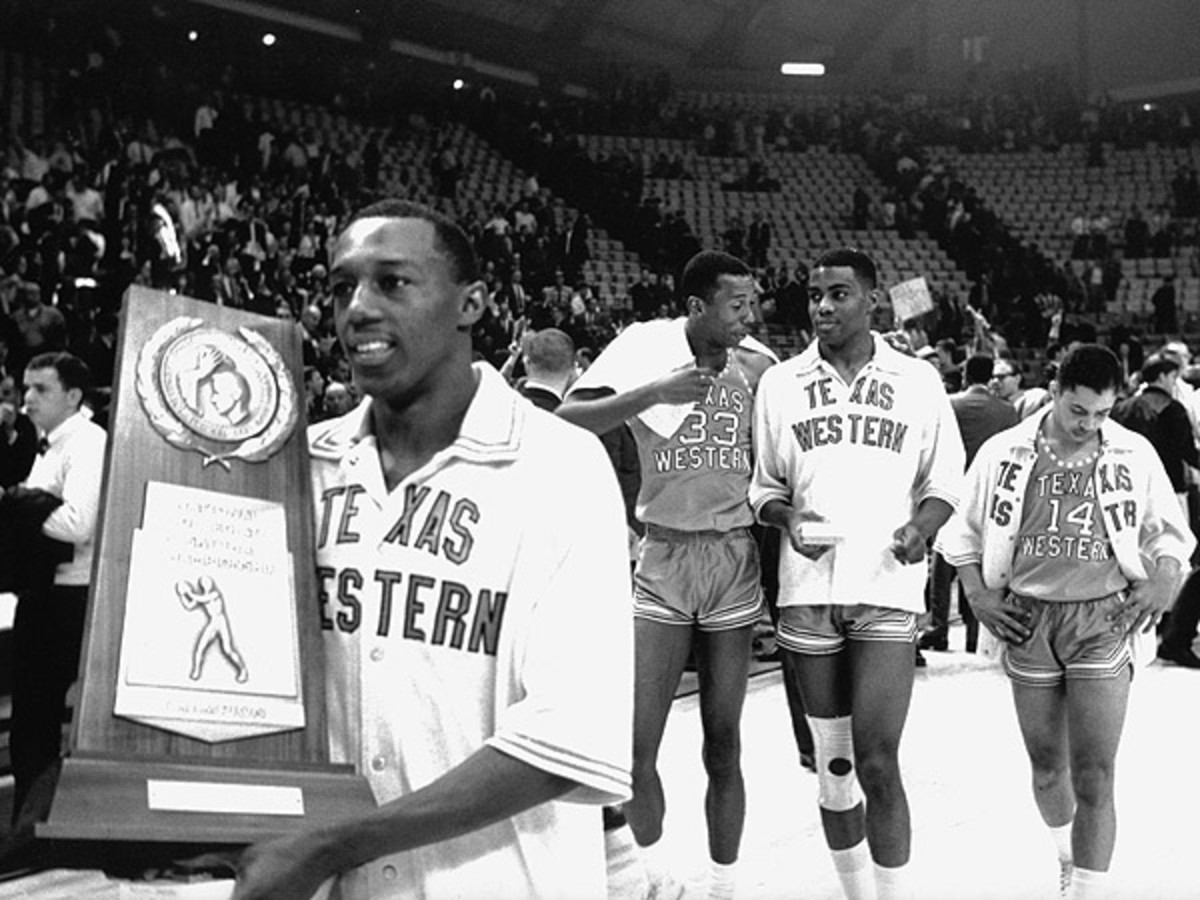 The 1966 National Championship game between Texas Western and Kentucky is one of college hoops' most well-known match-ups. (Rich Clarkson/SI)