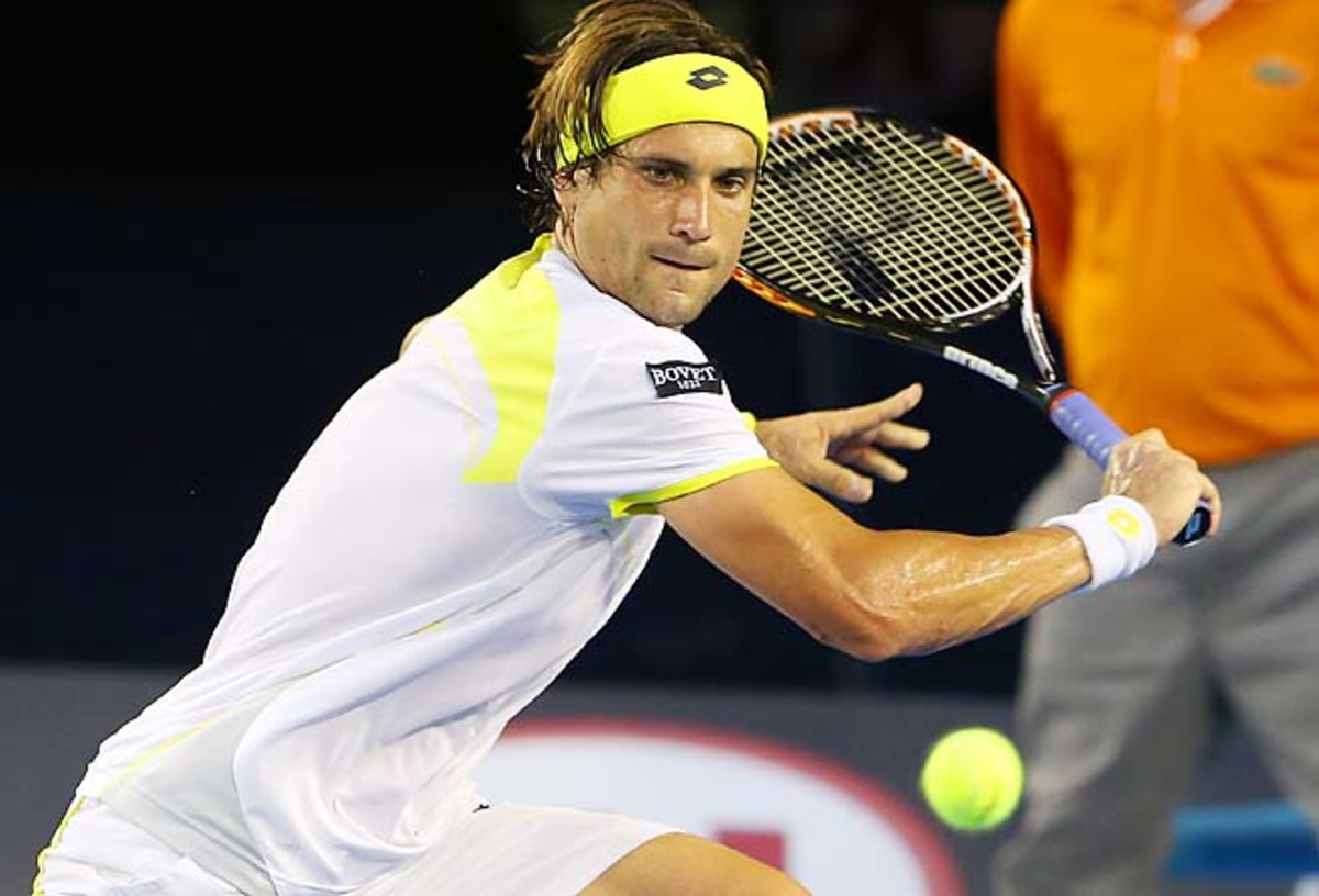 David Ferrer last played at the Australian Open, where he made the semifinals.