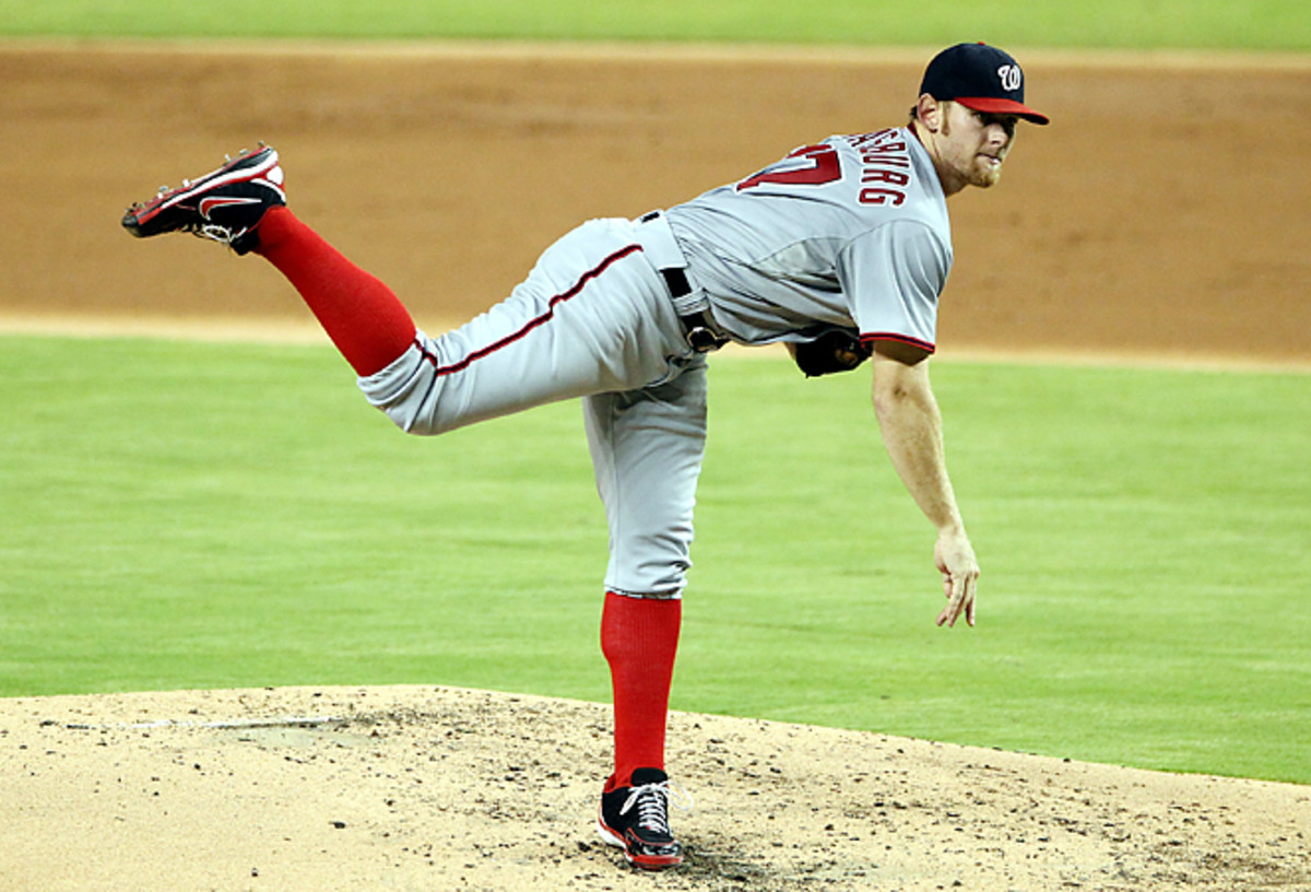 Stephen Strasburg is expected to pitch 200 innings in 2013, which could lead to a Cy Young campaign.