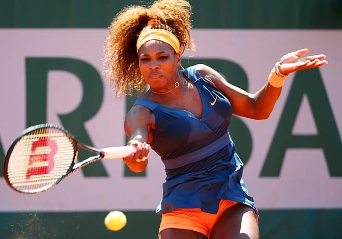 Serena Williams will face 2012 French open runner-up Sara Errani in the semifinals.