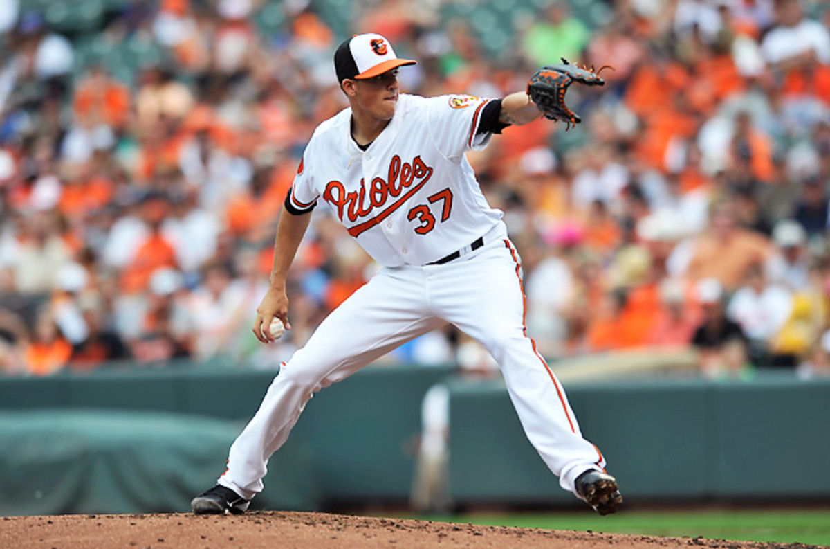 Baltimore's Kevin Gausman faces a tough matchup against Tampa Bay, but he's worth adding anyway.