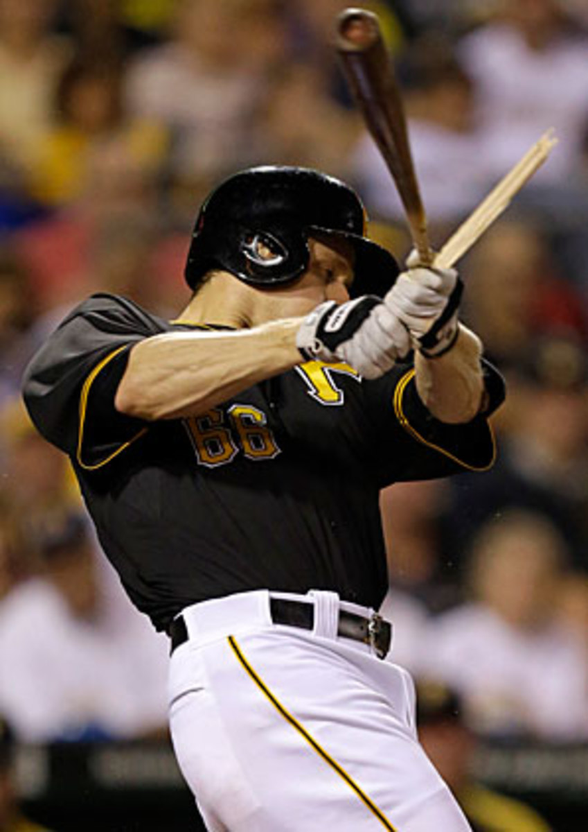 Justin Morneau struggled after a late-season trade to Pittsburgh.