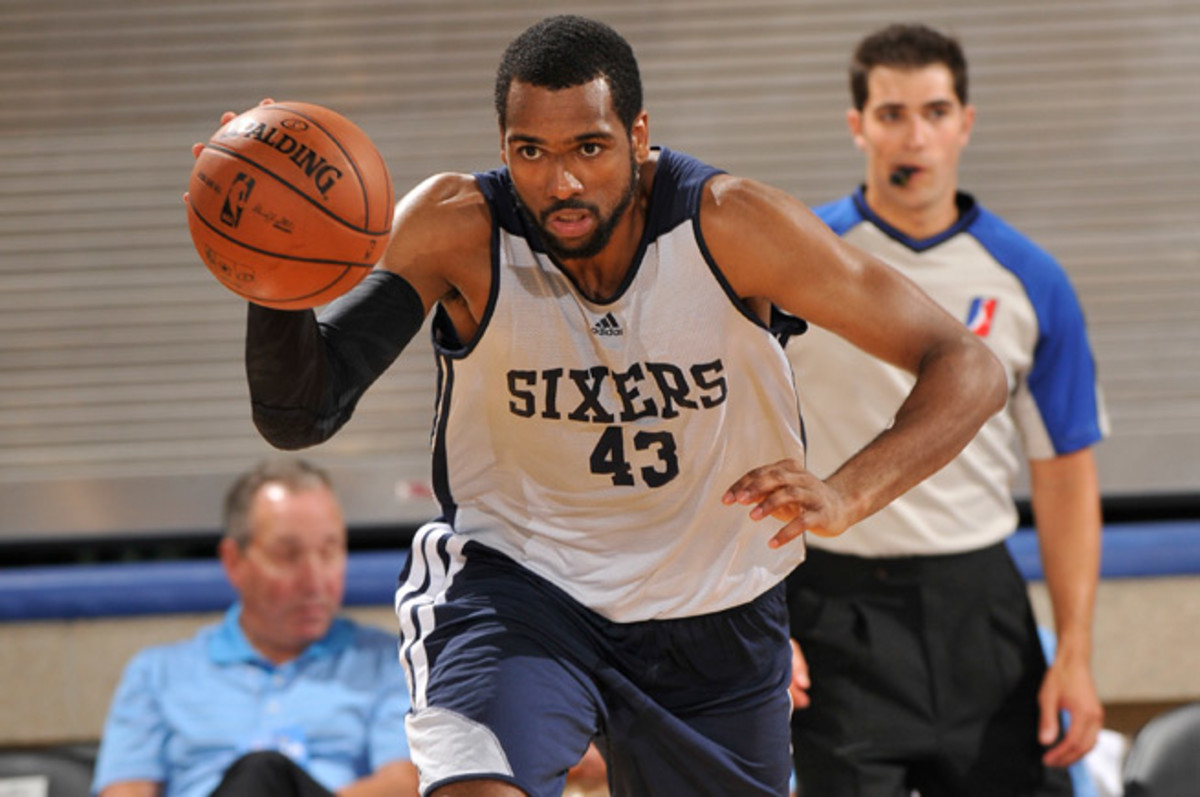 James Southerland played with the Philadelphia 76ers in summer league this offseason.
