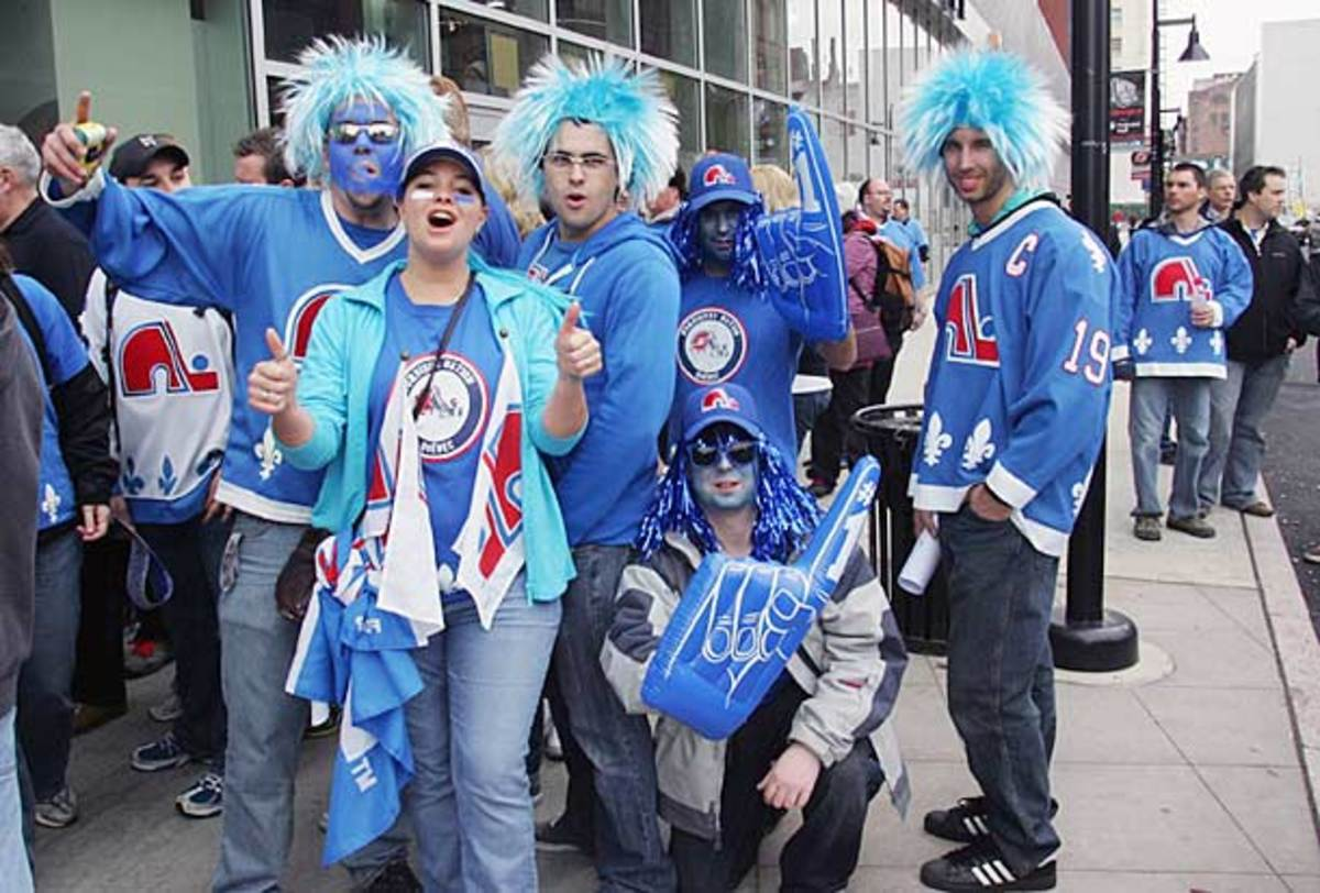 Quebec Nordiques fans want an NHL team for the city