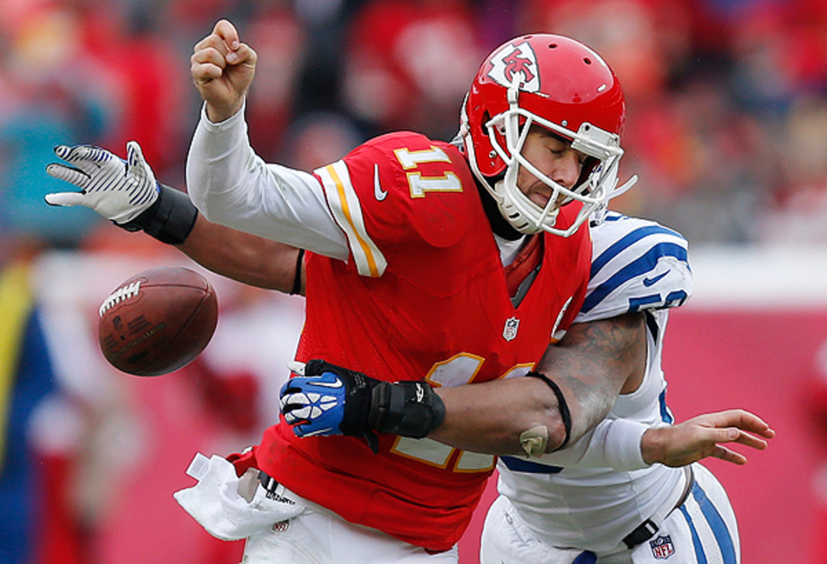 Alex Smith's mistakes outnumbered his big plays. and that's a losing formula.