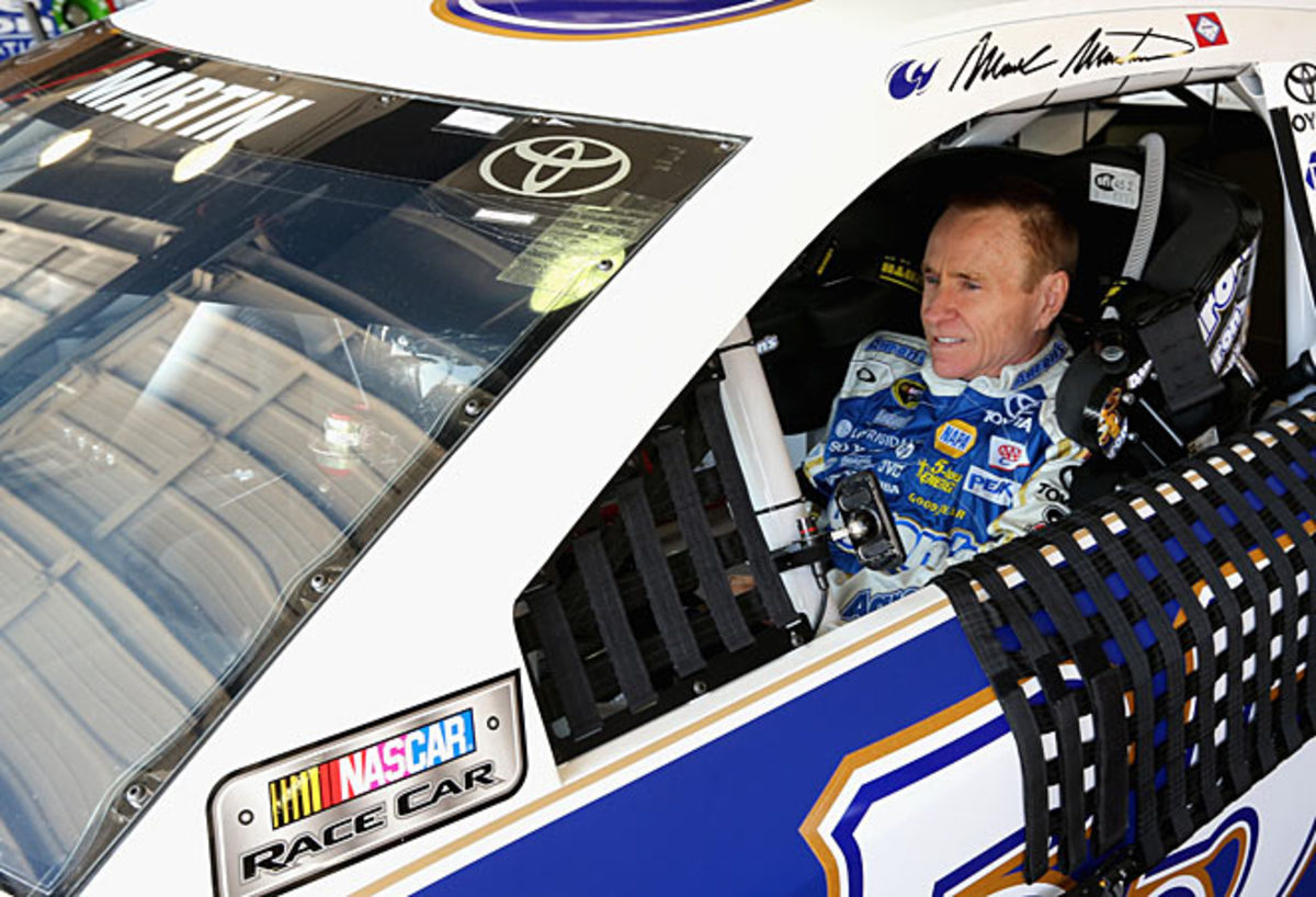 Mark Martiin has been mentioned as possibly taking over Denny Hamlin's No. 11 Toyota.