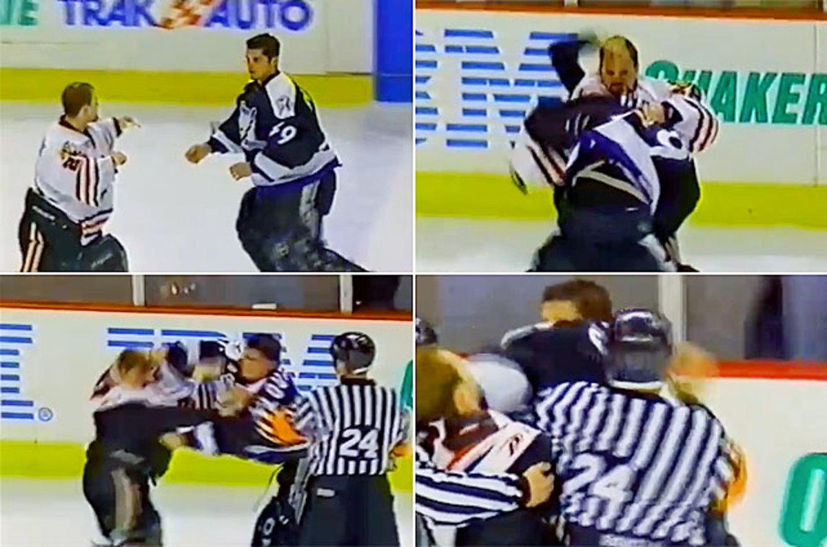 Dan Cloutier vs. Steve Passmore