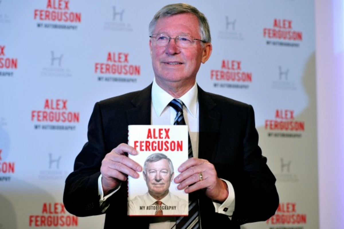 Former Manchester United manager Sir Alex Ferguson was critical of David Beckham. (AFP/Getty Images)