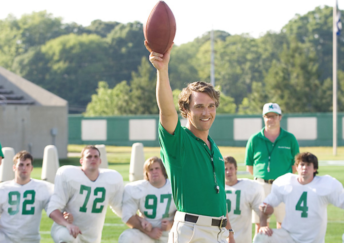 Matthew McConaughey can restore Texas football just like he did at Marshall.