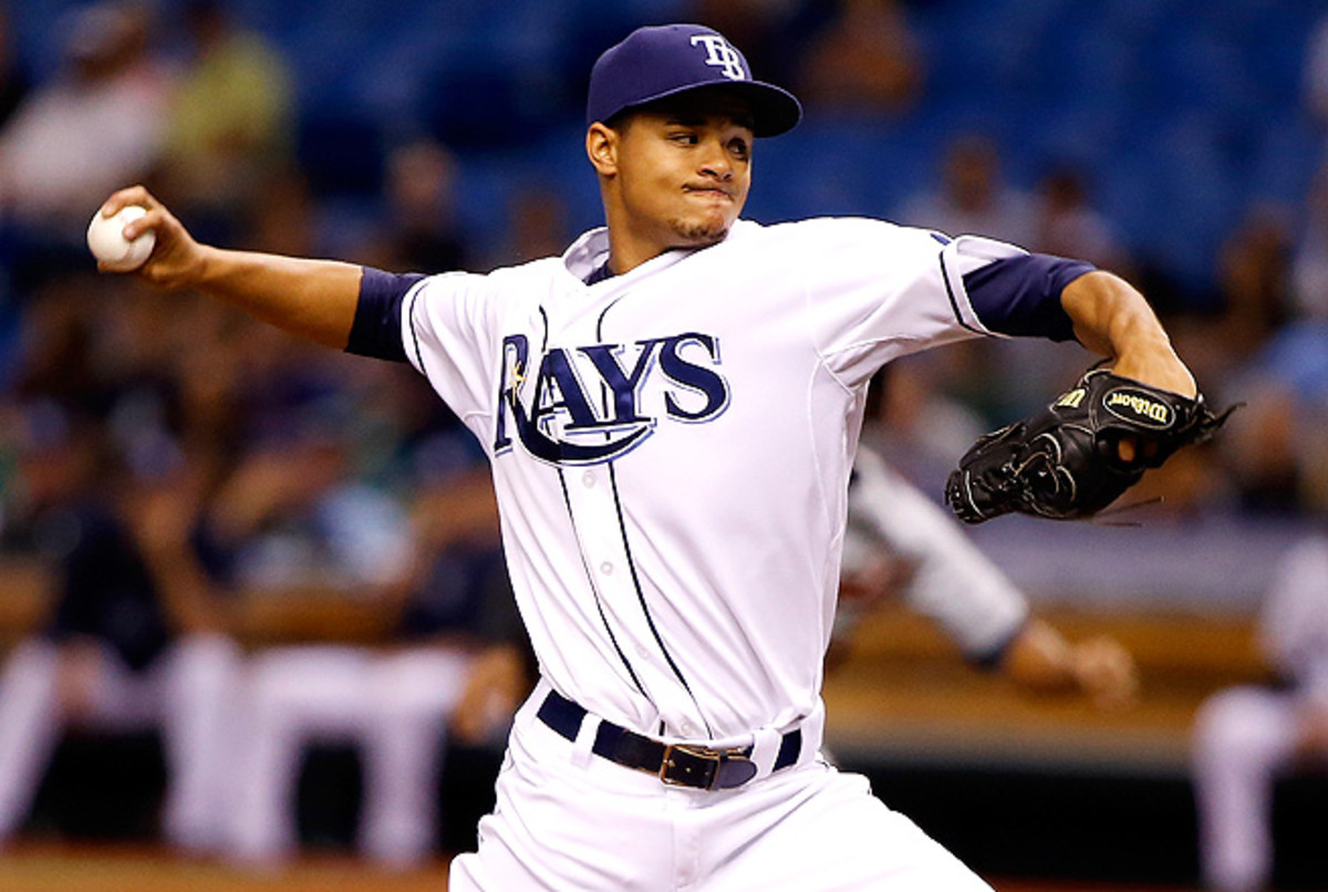 Chris Archer's ERA has dropped to 2.76, and he's only allowed one earned run in his last three games.