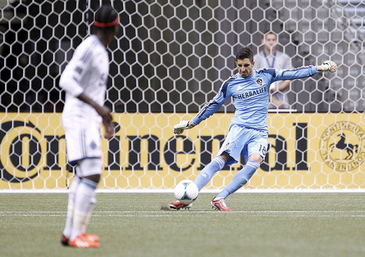 Although proficient with his feet, it was keeper Jaime Penedo's hands that secured a win for the Galaxy.