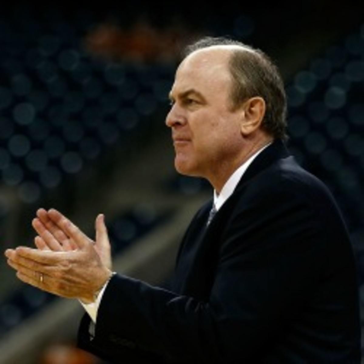 UCLA coach Ben Howland apologized for commenting on freshman star Shabazz Muhammad's draft status. (Scott Halleran/Getty Images)