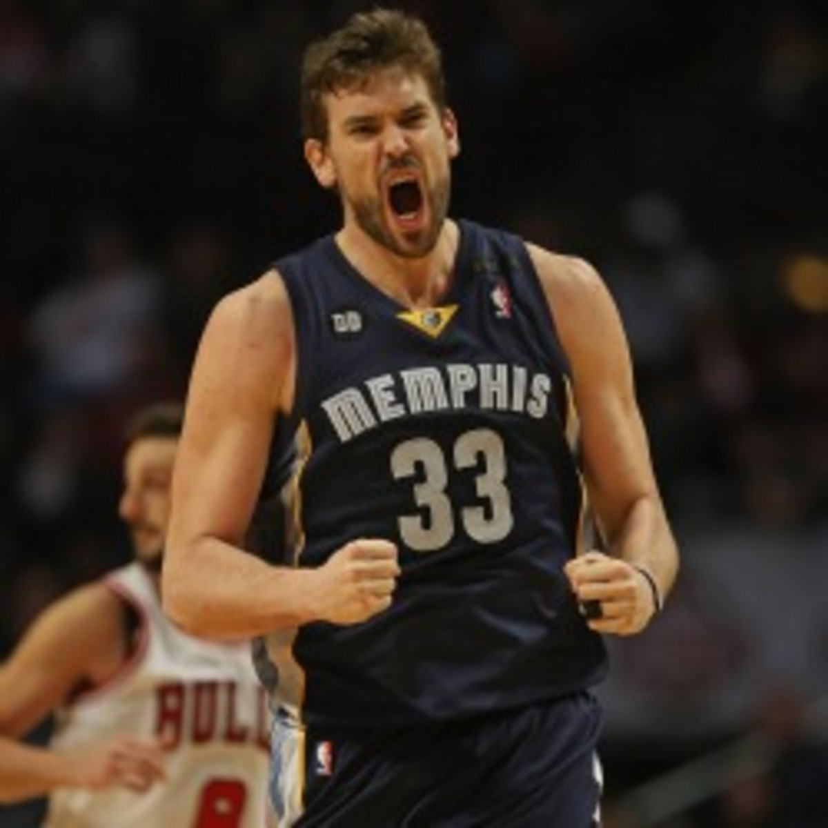 Grizzlies forward Marc Gasol is out indefinitely with an abdominal tear. (Jonathan Daniel/NBA/Getty Images)