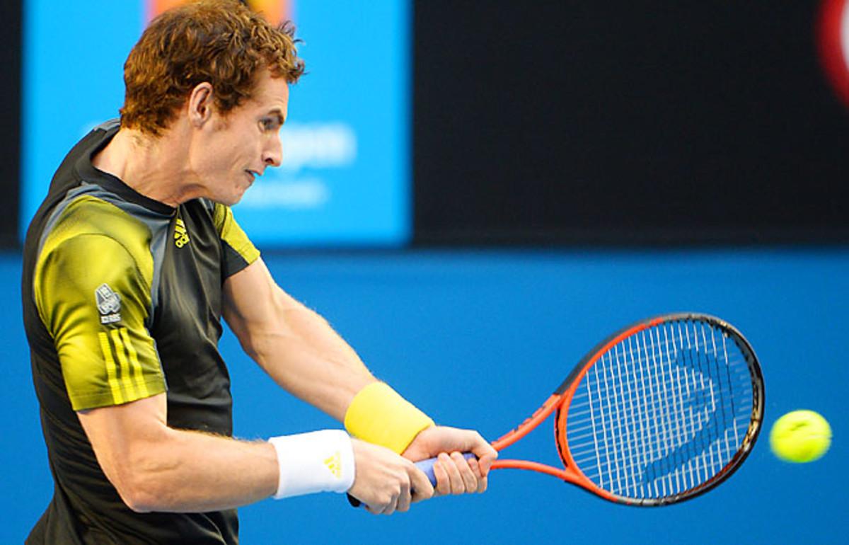Andy Murray hasn't played since losing the Australian Open final to Novak Djokovic.