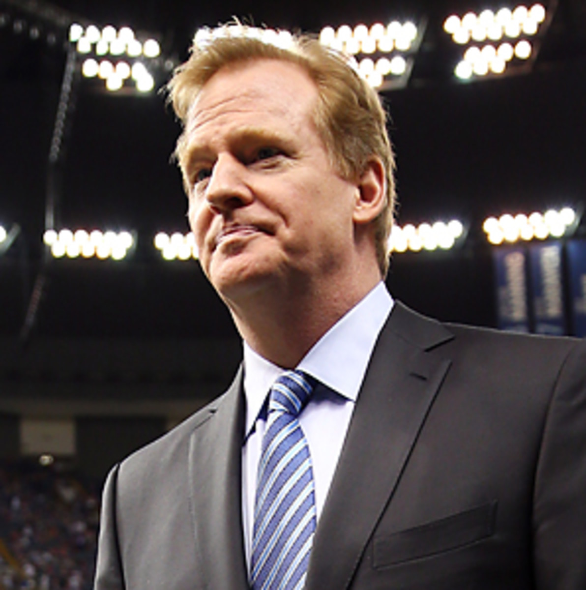 Roger Goodell saw his compensation from the NFL triple from 2011 to last year.
