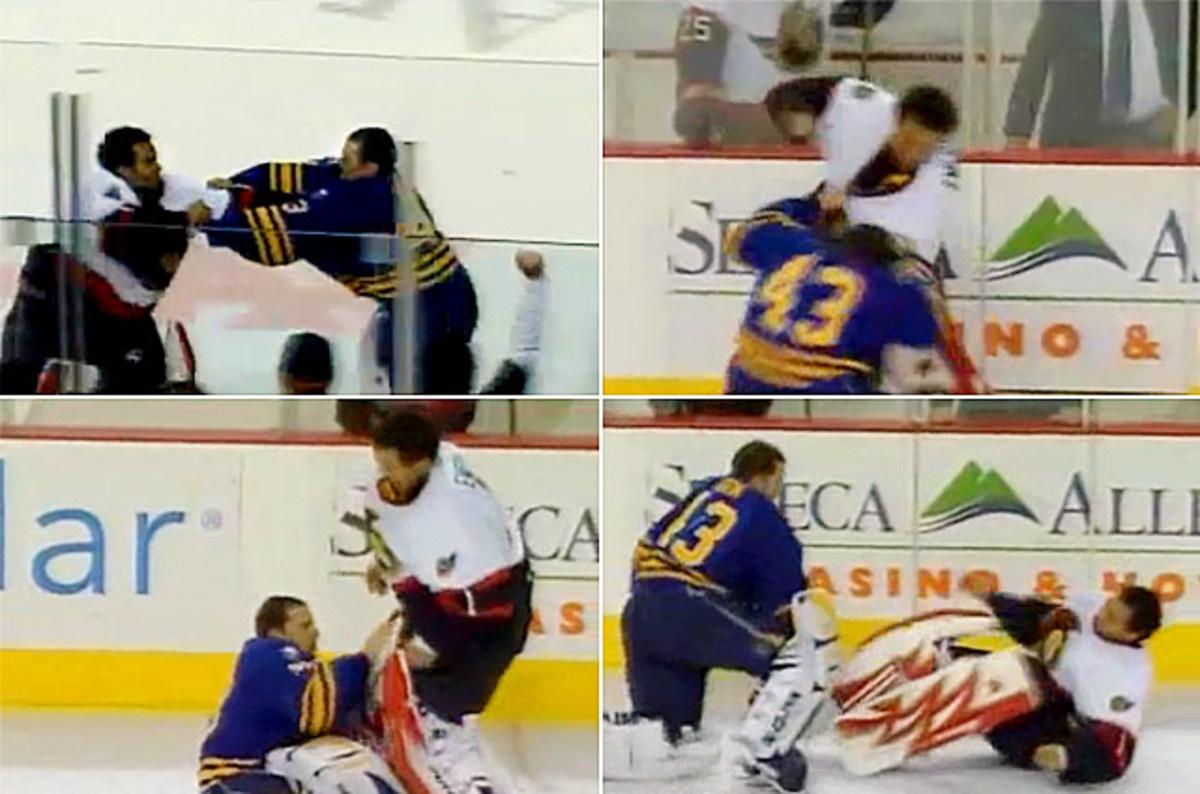 Ray Emery vs. Martin Biron