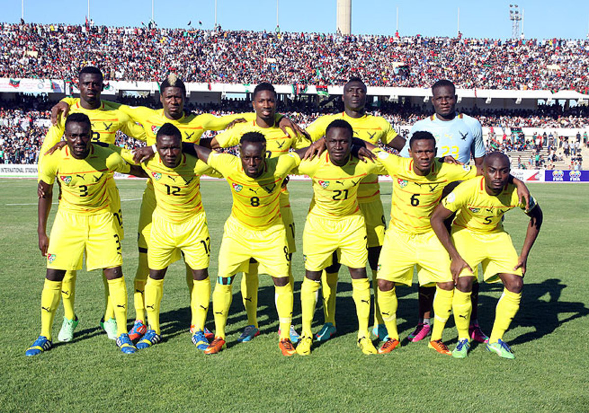 The Togo national team, seen here before a match with Libya in June, was assessed a loss in World Cup qualifying.