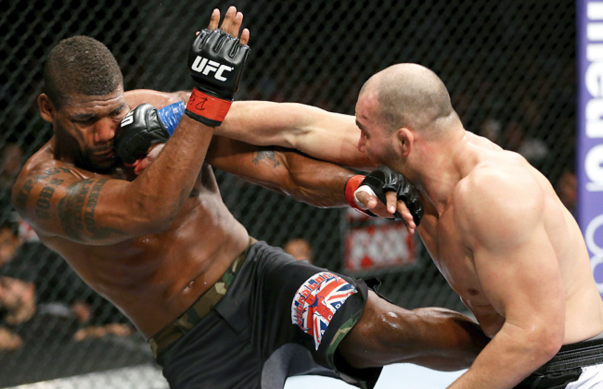 Rampage Jackson (left) said this will be his last UFC fight, but he plans on continuing his MMA career.
