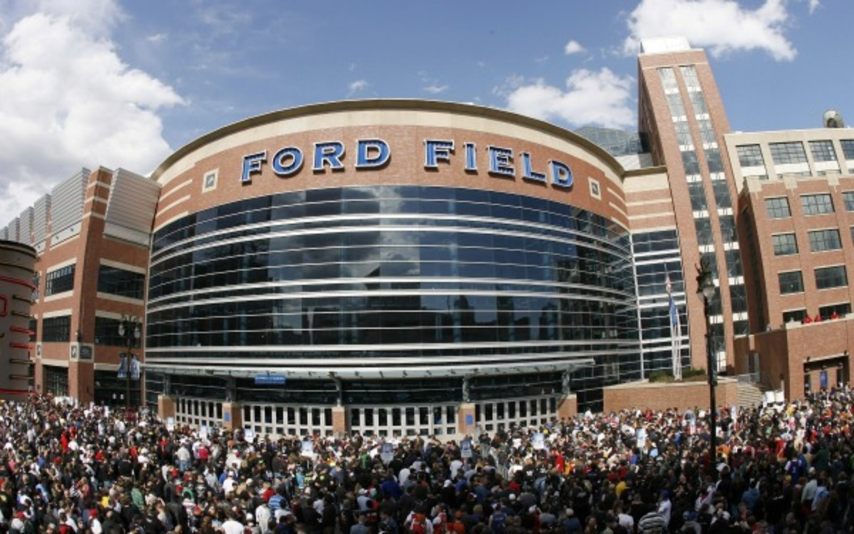 Detroit's Ford Field could be the site of a new college football bowl game. (Leon Halip/Getty Images)