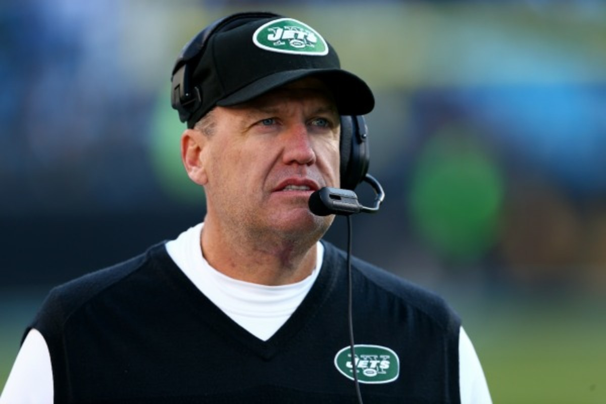 The Jets have missed the playoffs in each of the last three seasons under Rex Ryan. (Streeter Lecka/Getty Images)