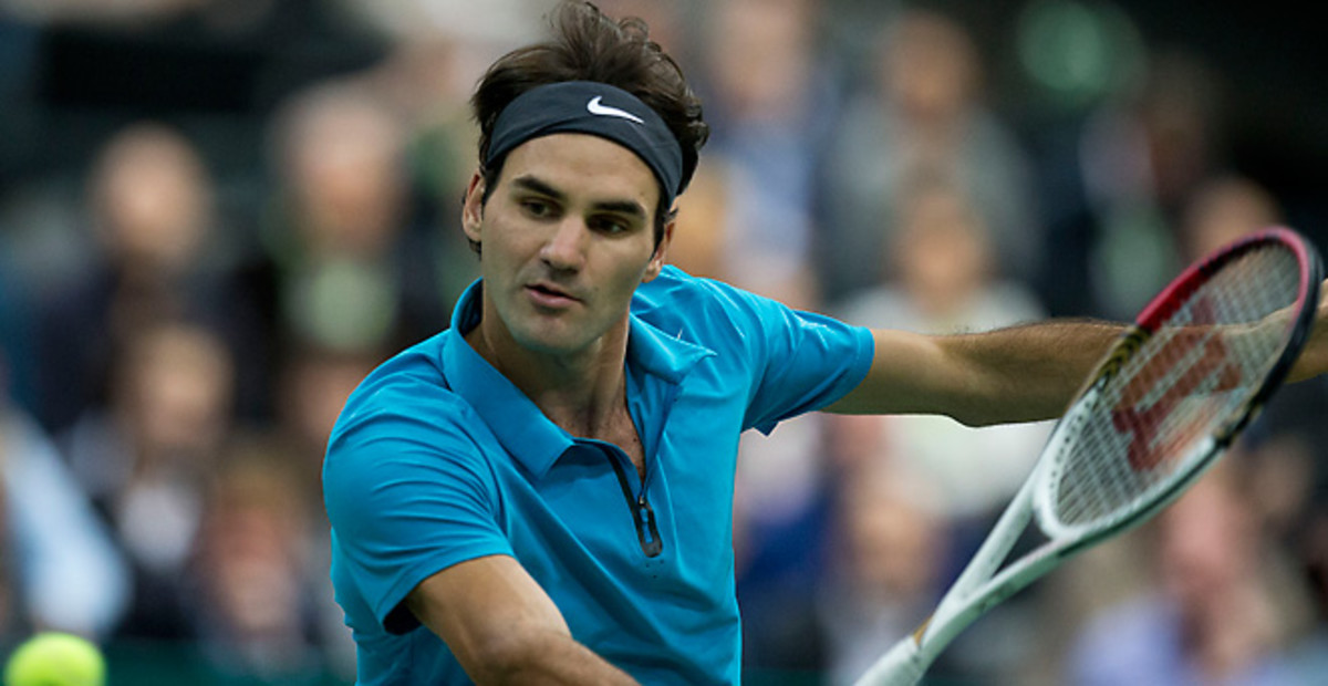 Roger Federer has been surprisingly absent from the last two Grand Slam finals, but he is unfazed.