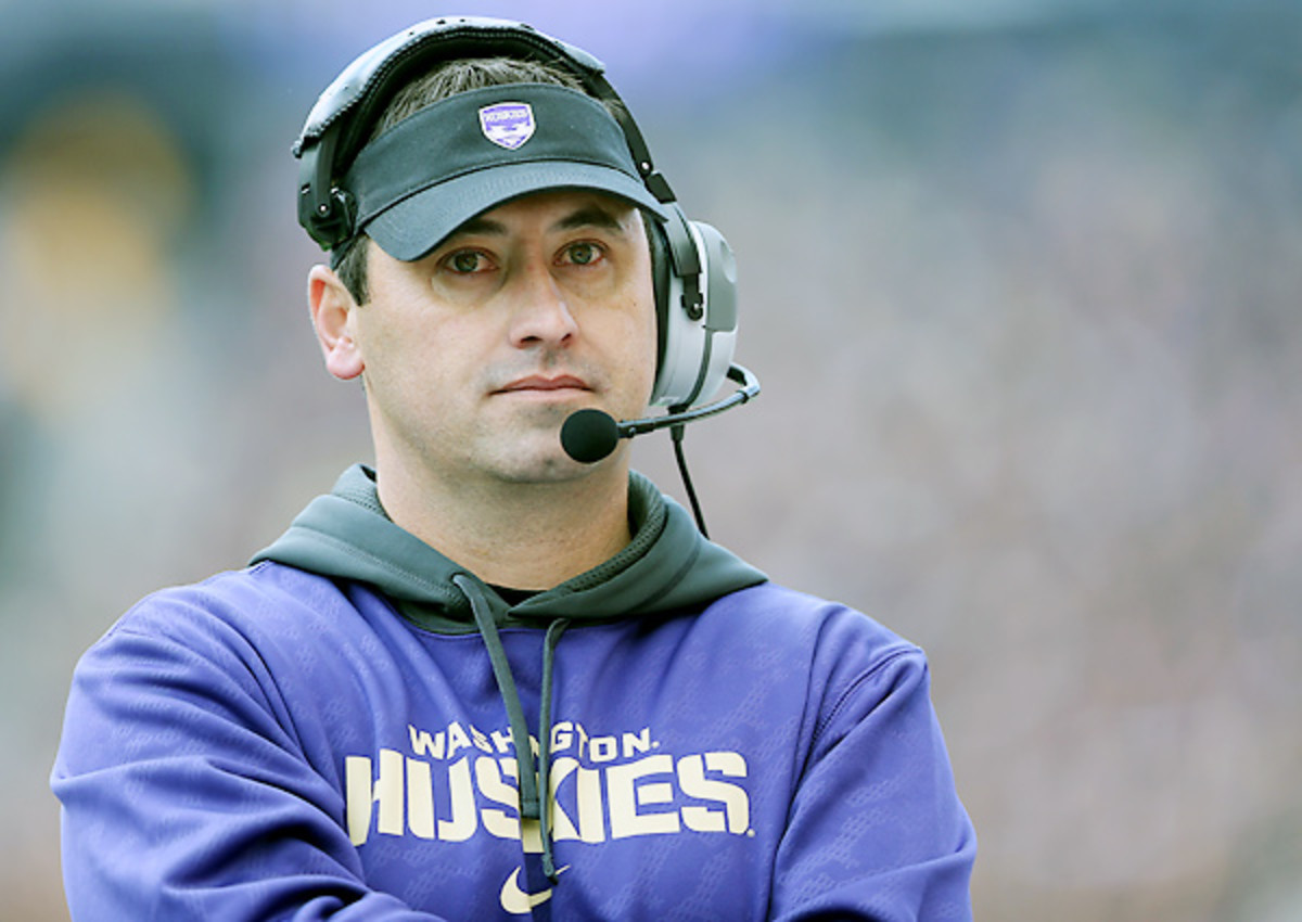 Steve Sarkisian went 34-29 in five seasons at Washington, including four straight trips to a bowl game.