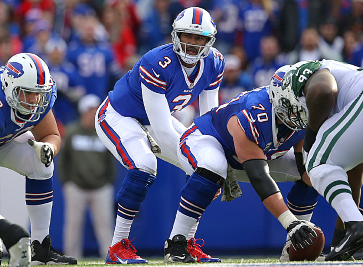 EJ Manuel threw for 245 yards and two TDs against the Bills in Week 11, and should have no problem versus the Jets.