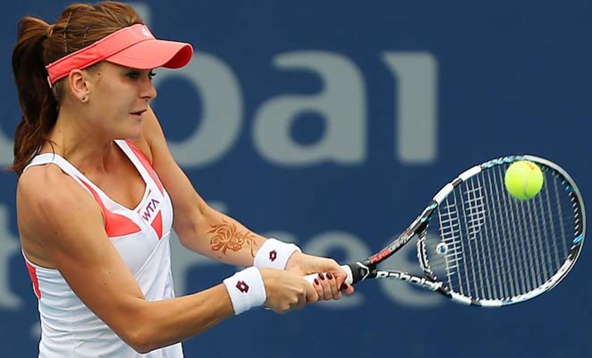 Agnieszka Radwanska is the top seed left with Serena Williams and Victoria Azarenka withdrawing.