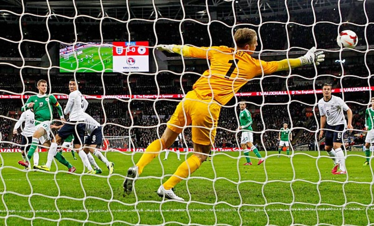 Per Mertesacker (17) scored the game's only goal on a header as Germany defeated England at Wembley.