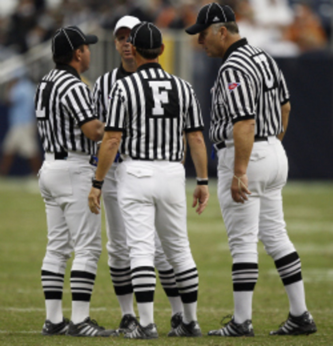 An NCAA committee met to discuss several rule changes in football to improve player safety. (Bob Levey/Getty Images)
