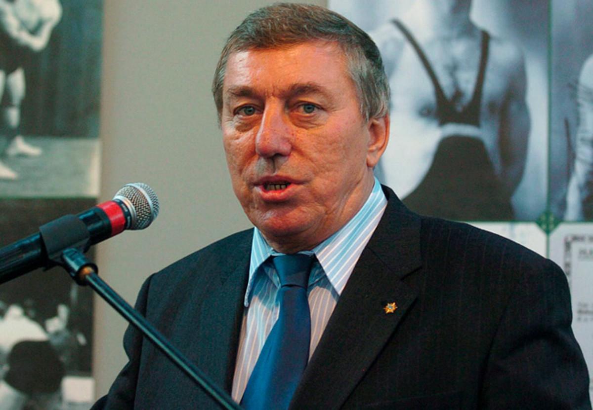 Raphael Martinetti had been president of the international wrestling federation since 2002.