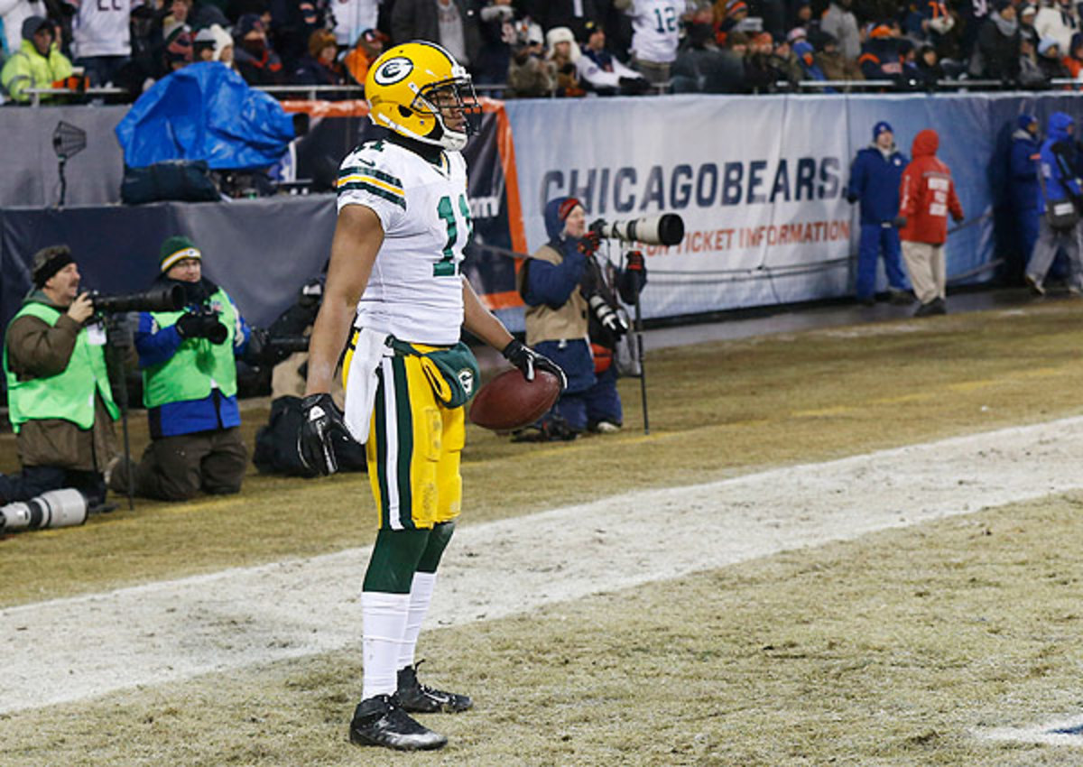 A heads-up play by Jarrett Boykin gave the Packers an early lead.
