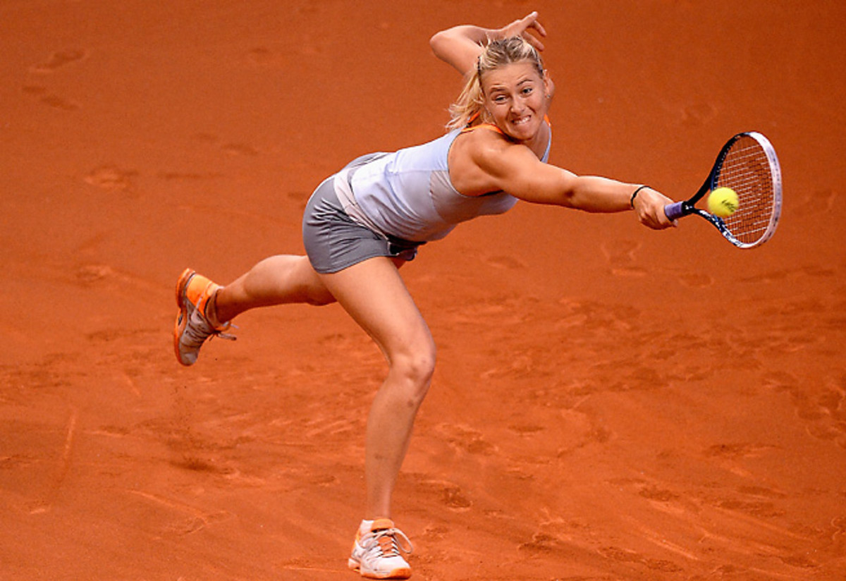 Maria Sharapova has had a tumultuous last month, losing to Sloane Stephens and firing Jimmy Connors.