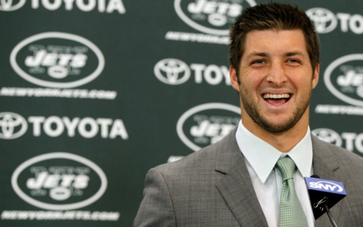 Is Tim Tebow finally moving on from his NFL dreams? (Mike Stobe/Getty Images)
