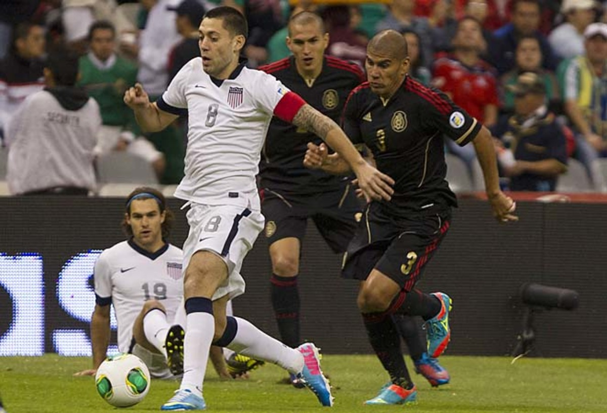 Clint Dempsey captained the U.S. for the second straight match in Tim Howard's absence.