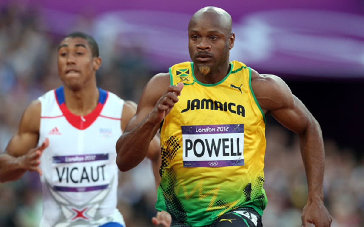 "Asafa Powell said he was ""shocked"" by a positive drug test. (Streeter Lecka/Getty Images)"