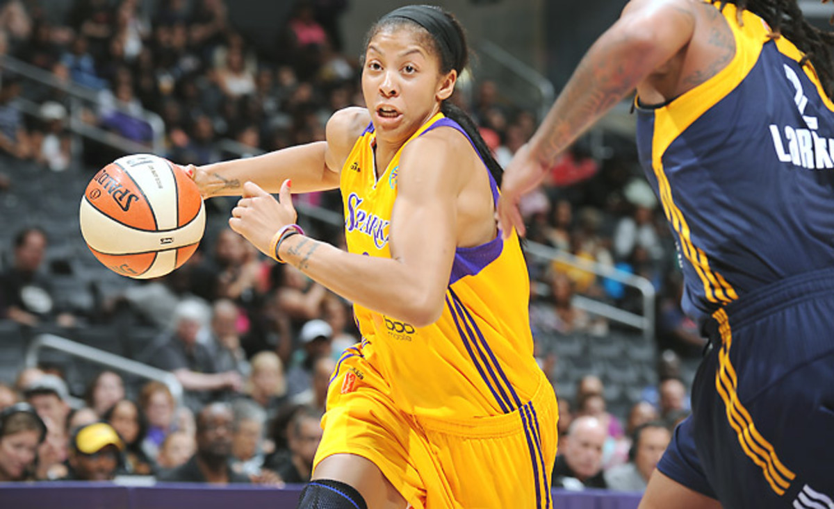 Candace Parker will eke out her second WNBA MVP award, narrowly topping Maya Moore.
