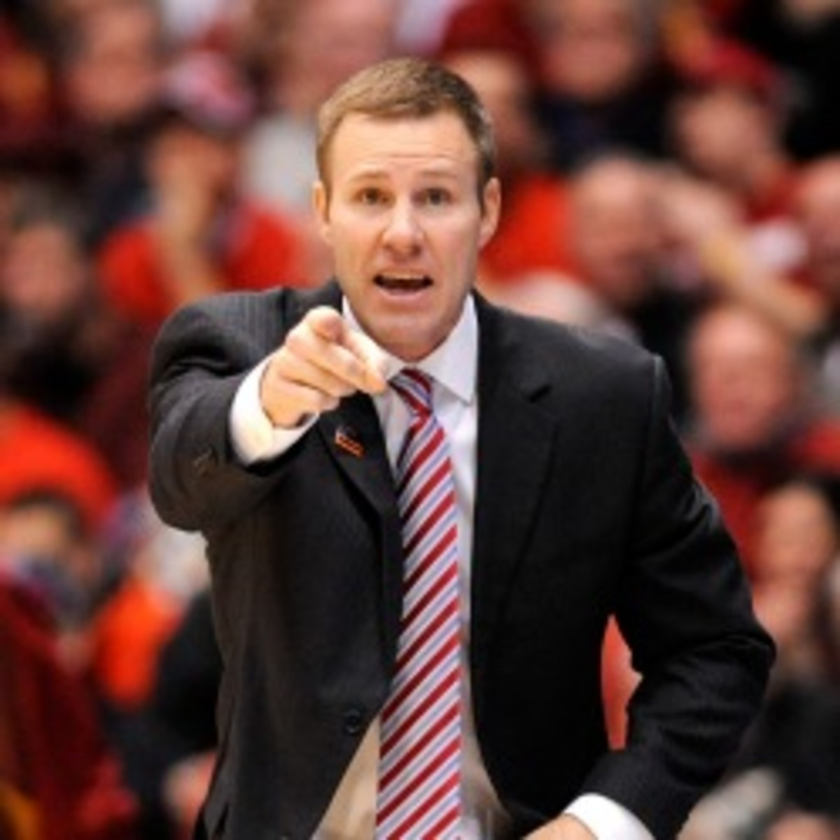 Iowa State coach Fred Hoiberg signed a 10-year extension worth $20 million. (Jason Miller/Getty Images)