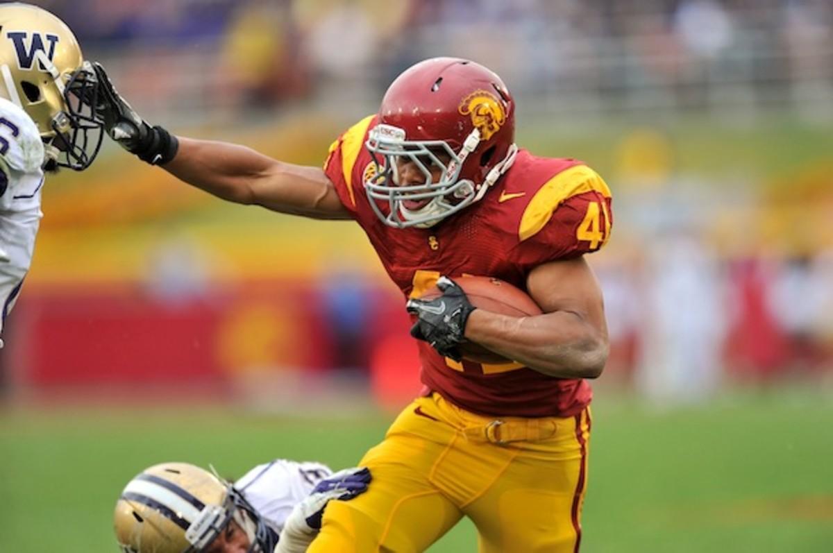 USC import Amir Carlisle hasn't seen the football field since the 2011-12 season. (AP)