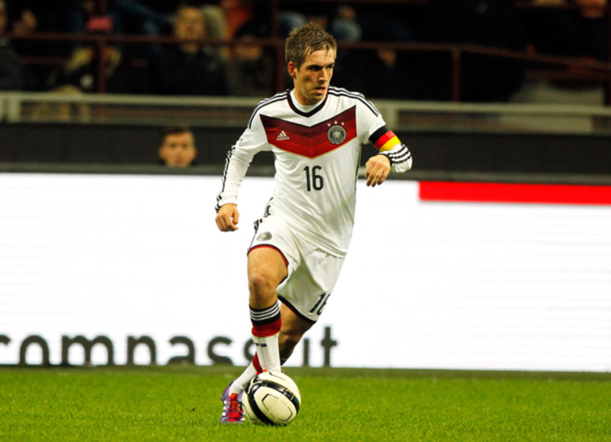 Germany captain Philipp Lahm and his international teammates will each make more than $400,000 if they win the World Cup.