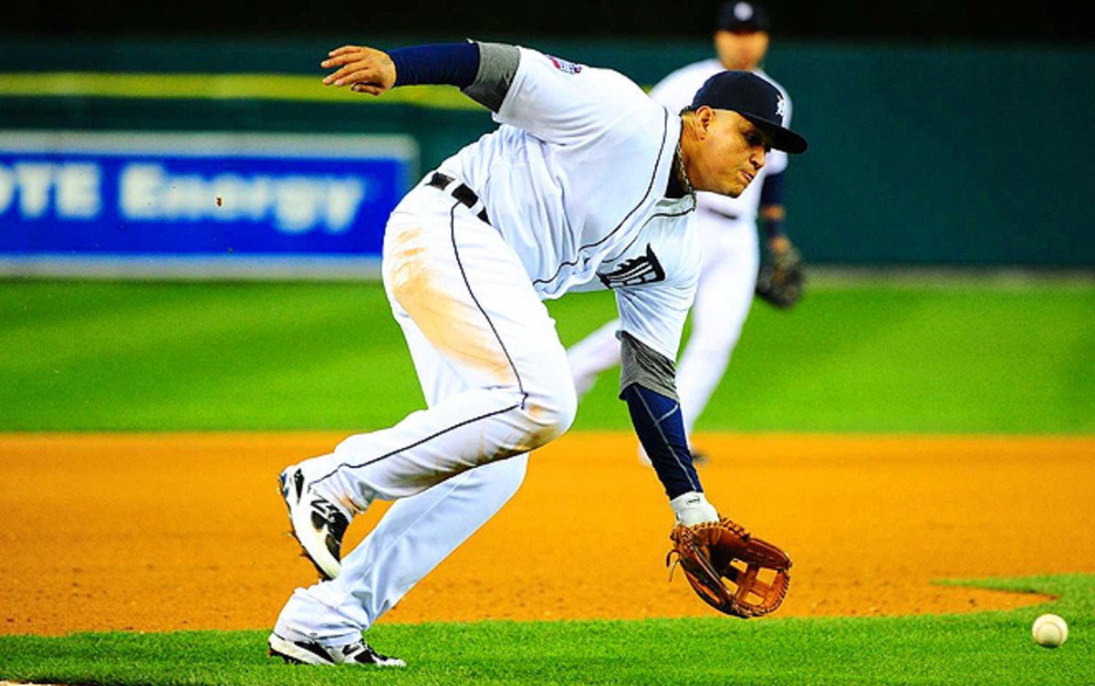 Daily players, take note: Miguel Cabrera had one of the highest batting averages against lefties last season.