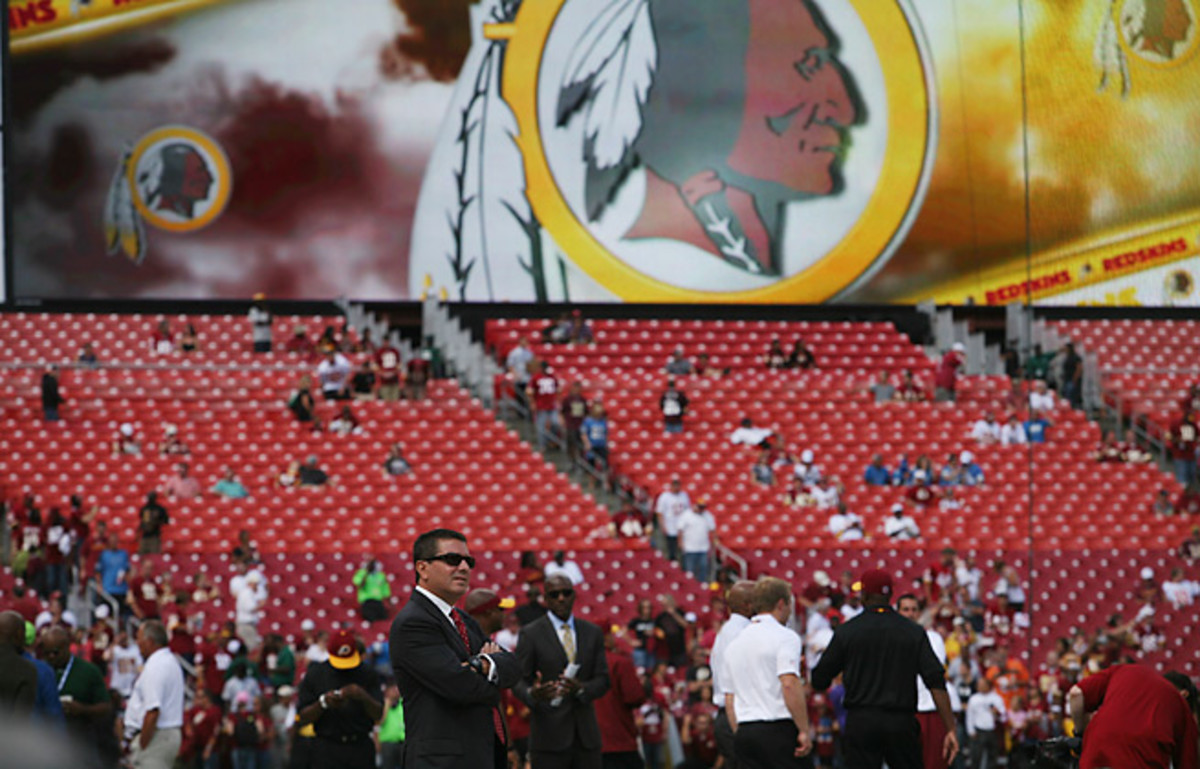 Daniel Snyder's devotion to the Redskins name is rooted in supporting the team since he was a boy.