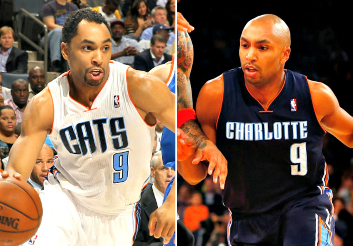 Did Gerald Henderson lose a bet? (Kent Smith and Jim McIsaac/Getty Images)