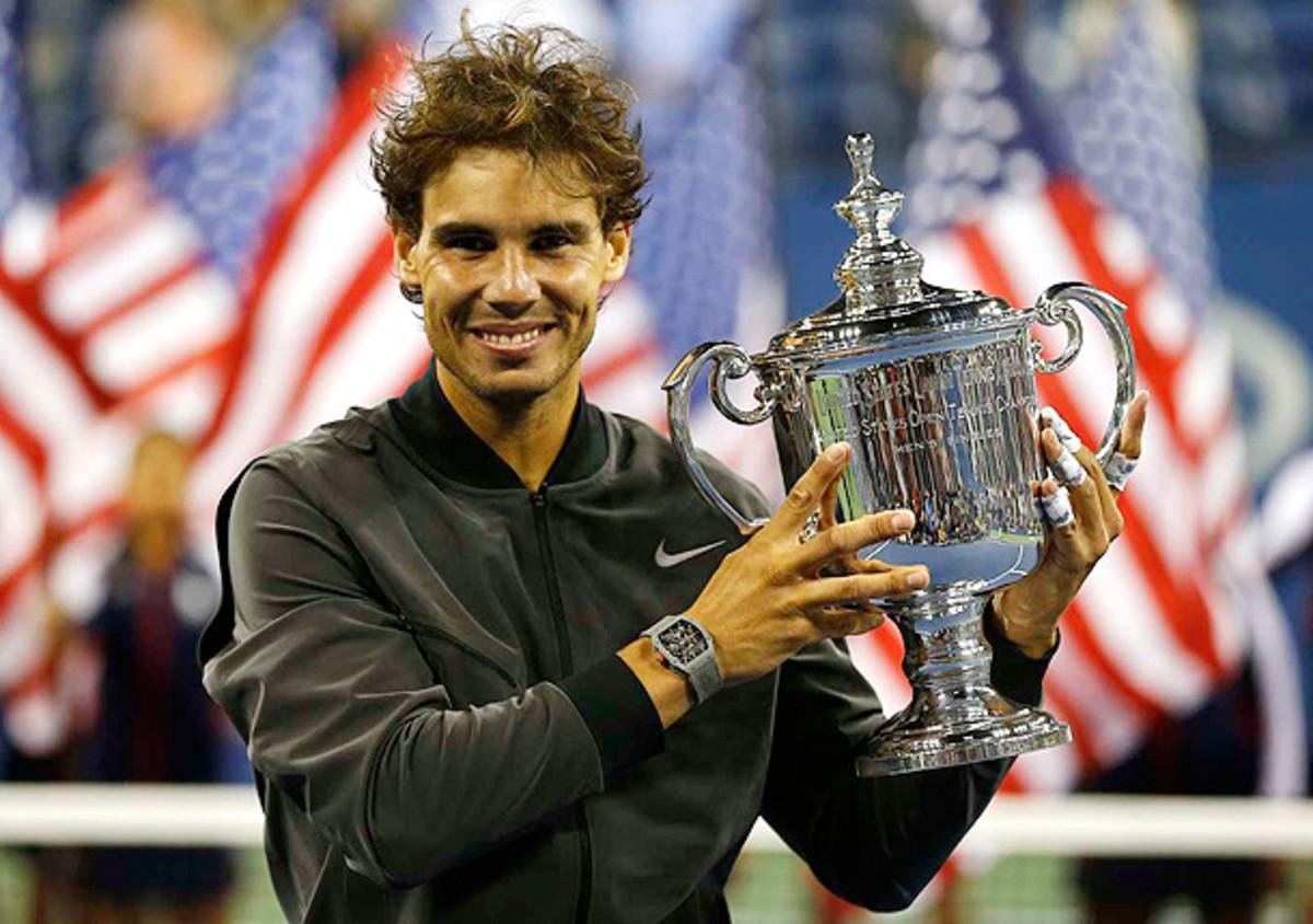 Rafael Nadal won his second U.S. Open title