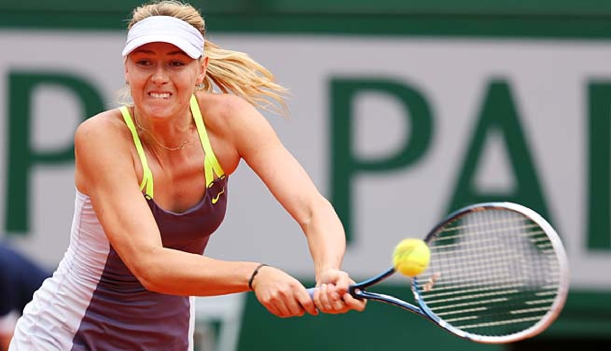 Maria Sharapova must win the French Open to retain her No. 2 ranking.