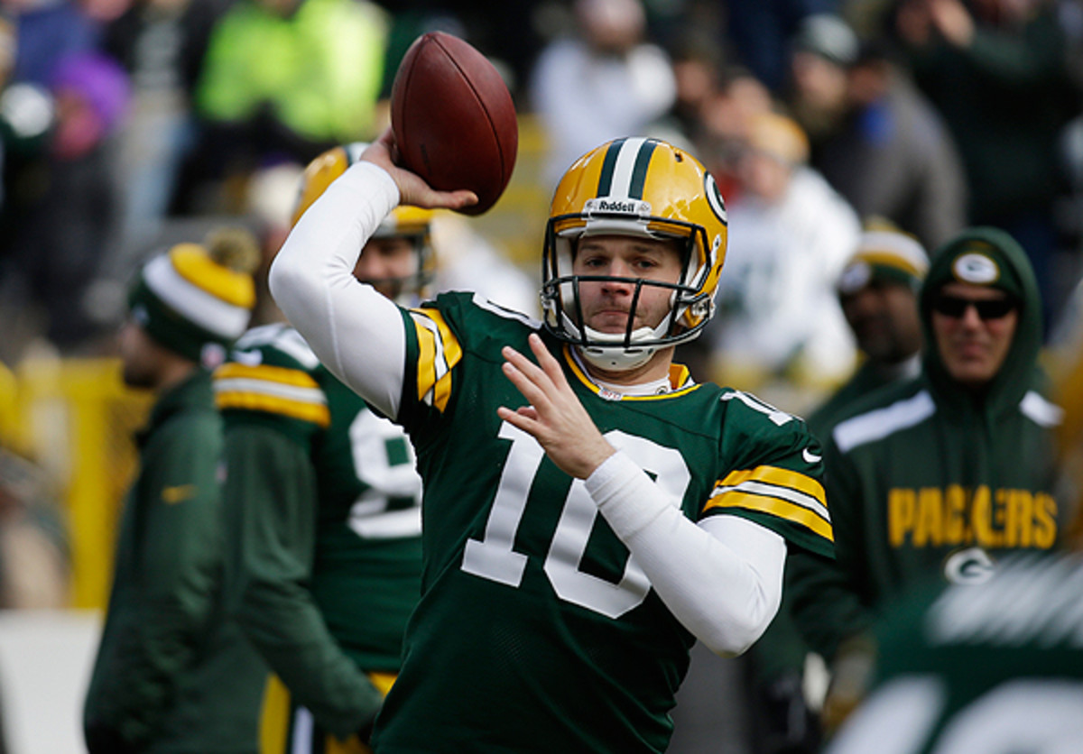 It took a while, but Matt Flynn is back under center for the Green Bay Packers.