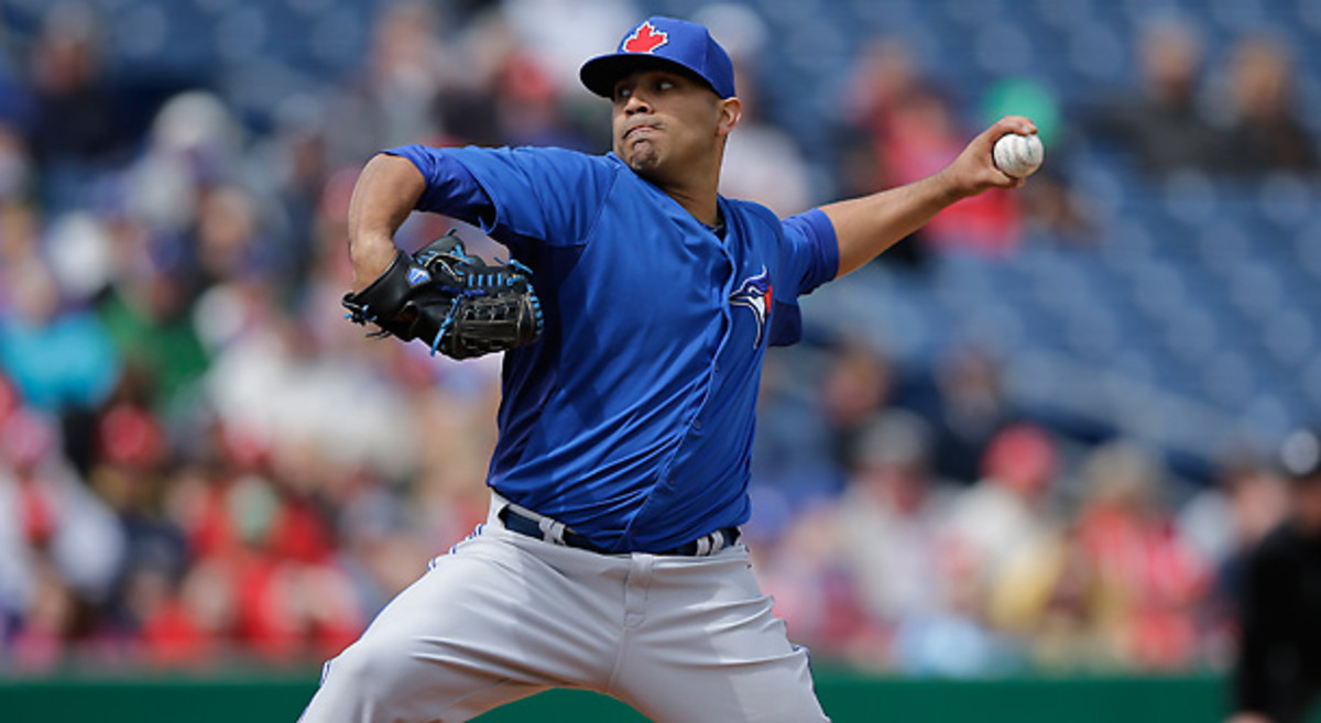 Ricky Romero, once considered the ace of Toronto's staff, will work on his mechanics in High-A [Matt Slocum/AP]